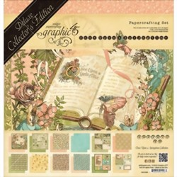 Bild von Graphic 45 Deluxe Collector's Edition Pack Projektkit - ONCE UPON A SPRINGTIME Collection