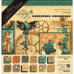 Bild von Graphic 45 Deluxe Collector's Edition Pack Projektkit -  STEAMPUNK DEBUTANTE Collection