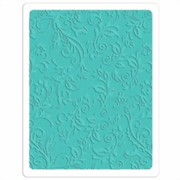 Bild von Sizzix Textured Impressions Plus Embossing Folder-Botanical Swirls