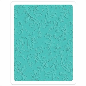 Bild von Sizzix Embossingschablone PLUS Botanical Swirls