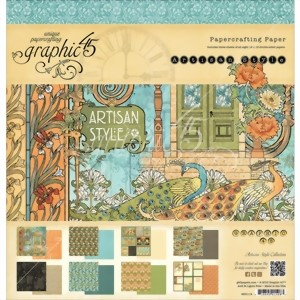 Bild von Graphic 45 Designblock Papierblock - ARTISAN STYLE Collection