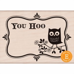 Bild von Hero Arts Stempel - You Hoo