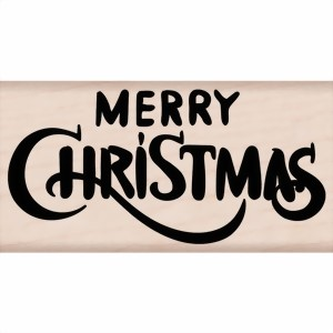 Bild von Hero Arts Stempel - Merry Christmas