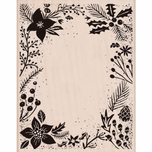 Bild von Hero Arts Stempel -Holiday Floral Background