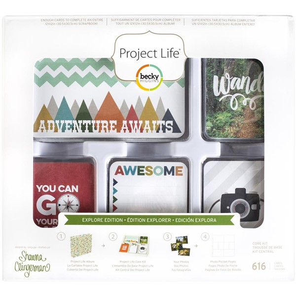 Bild von Project Life - Core Kit - Explore Edition