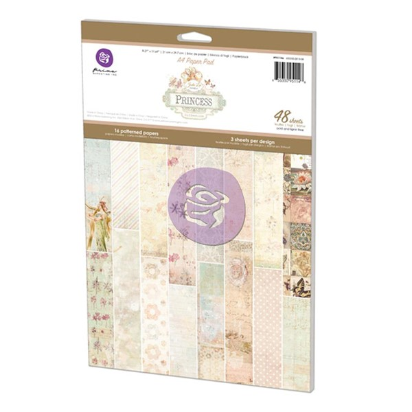 Bild von Prima Marketing Princess Designblock Papierblock A4