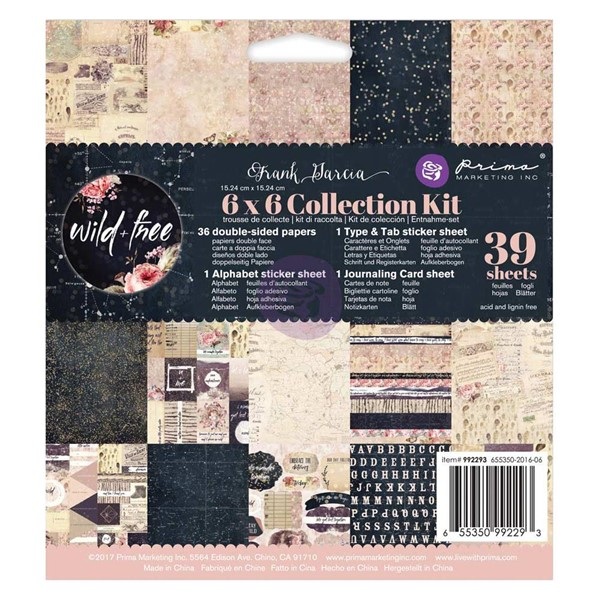 "Bild von Prima Marketing Frank Garcia Wild & Free Collection Kit 6""x6"""