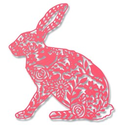 Bild von Sizzix Thinlit Stanze - Wild Rabbit
