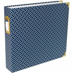"Bild von Project Life D-Ring Album 12""X12""-Navy Weave"