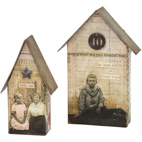 Bild von Tim Holtz Bigz Large Stanze Tiny Houses