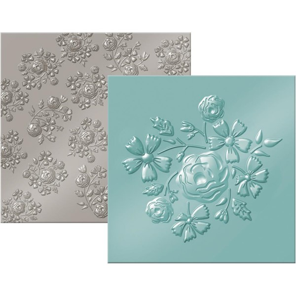 Bild von Lifestyle Next Level Embossing Schablone Bouquet