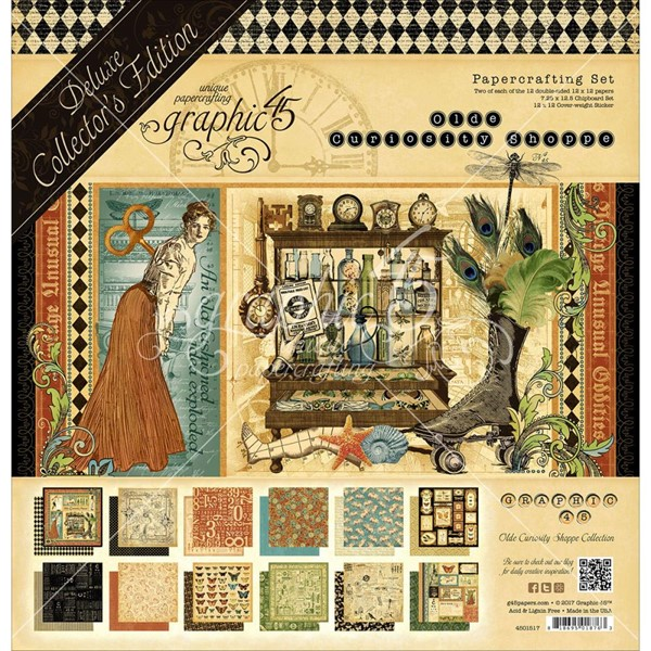 Bild von Graphic 45 Deluxe Collector's Edition Pack Projektkit - Olde Curiosity Shoppe