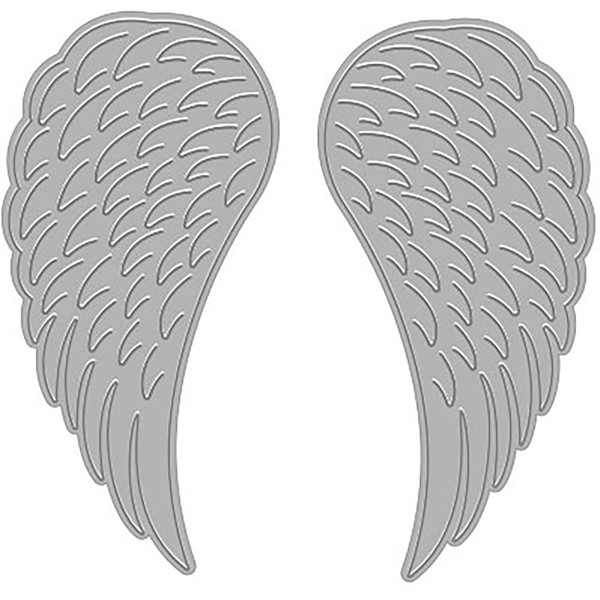 Bild von Hero Arts Fancy Dies Angel Wings Stanze