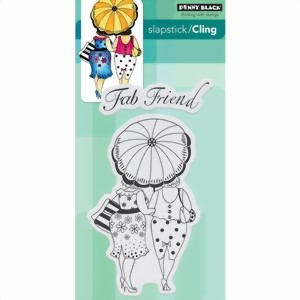 Bild von Penny Black Cling Stamp FAB FRIEND Stempel