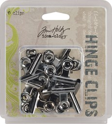 "Bild von Idea-Ology Metall Bulldog Clips 1"" 15/Pkg Antique Nickel"