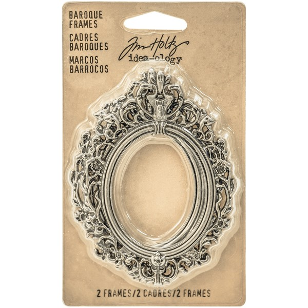 Bild von Idea-Ology Metall Baroque Rahmen 2/Pkg Antique Nickel