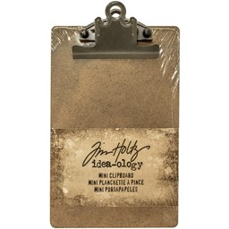 "Bild von Idea-Ology Mini Clipboard Brown 4.5""X7.75"""