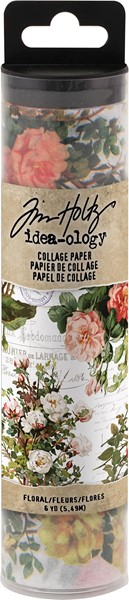 "Bild von Idea-Ology Collage Paper 6""X6yds-Floral"
