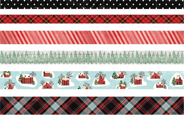 Bild von Idea-Ology Design Tape 6/Pkg Christmas