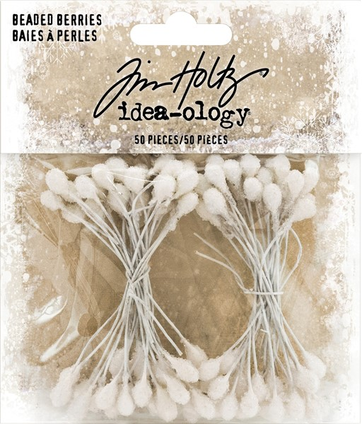 Bild von Idea-Ology Decor Stengel 50/Pkg White 2.5""