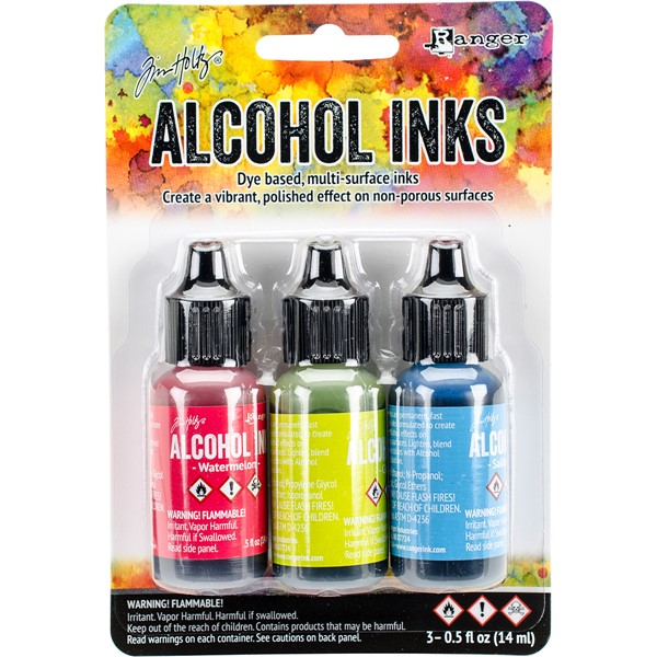 Bild von Tim Holtz Alkoholtinte 14,8ml 3er Set Dockside Picnic-Watermln/Citrus/Sailboat