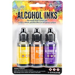 Bild von Tim Holtz Alkoholtinte 14,8ml 3er Set Summit View-Sunshine/Sunset/Pure Twilght