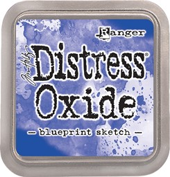 Bild von Tim Holtz Distress Oxides Stempelkissen 7,6 x 7,6 cm Blueprint Sketch