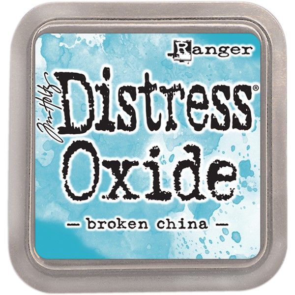 Bild von Tim Holtz Distress Oxides Stempelkissen 7,6 x 7,6 cm Broken China