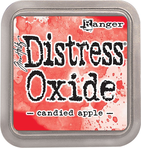 Bild von Tim Holtz Distress Oxides Stempelkissen 7,6 x 7,6 cm Candied Apple