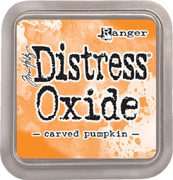 Bild von Tim Holtz Distress Oxides Stempelkissen 7,6 x 7,6 cm Carved Pumpkin