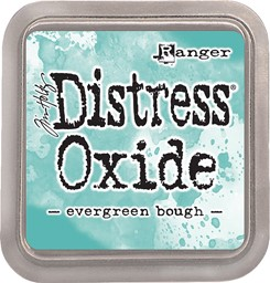 Bild von Tim Holtz Distress Oxides Stempelkissen 7,6 x 7,6 cm Evergreen Bough