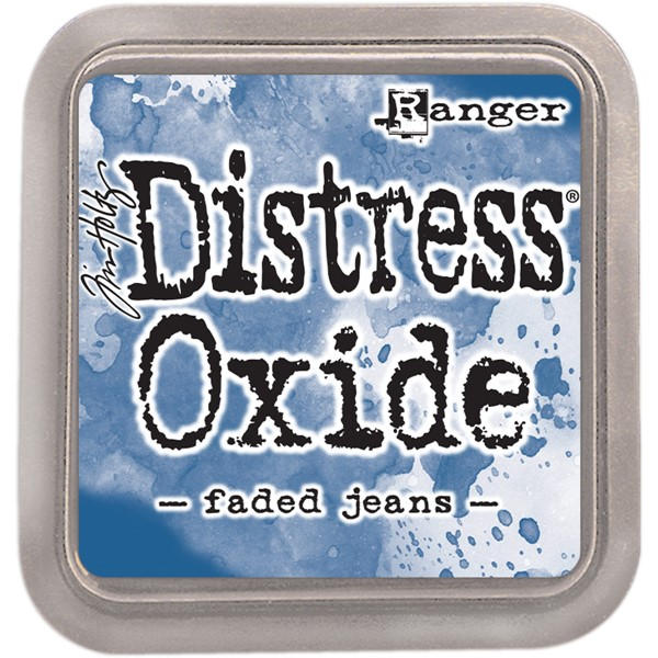 Bild von Tim Holtz Distress Oxides Stempelkissen 7,6 x 7,6 cm Faded Jeans