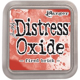 Bild von Tim Holtz Distress Oxides Stempelkissen 7,6 x 7,6 cm Fired Brick