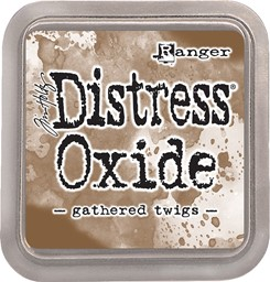 Bild von Tim Holtz Distress Oxides Stempelkissen 7,6 x 7,6 cm Gathered Twigs