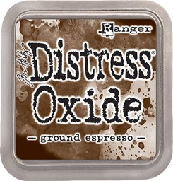 Bild von Tim Holtz Distress Oxides Stempelkissen 7,6 x 7,6 cm Ground Espresso