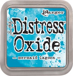 Bild von Tim Holtz Distress Oxides Stempelkissen 7,6 x 7,6 cm Mermaid Lagoon