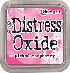 Bild von Tim Holtz Distress Oxides Stempelkissen 7,6 x 7,6 cm Picked Raspberry