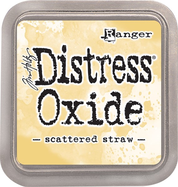 Bild von Tim Holtz Distress Oxides Stempelkissen 7,6 x 7,6 cm Scattered Straw