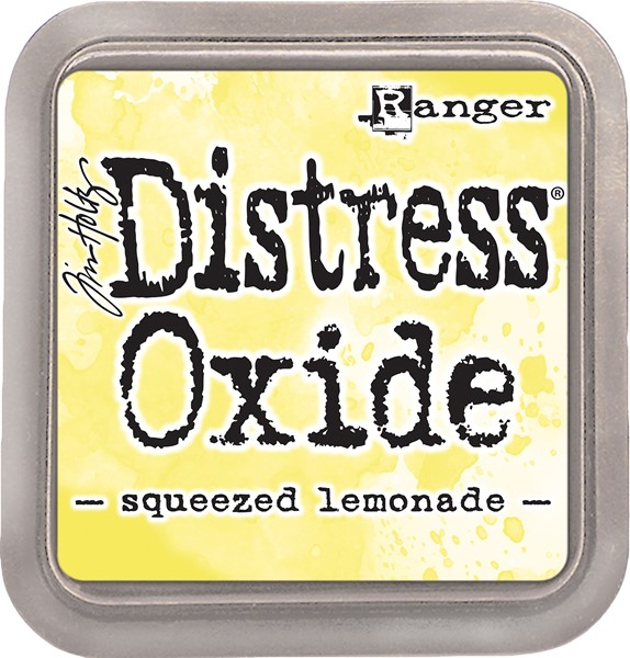 Bild von Tim Holtz Distress Oxides Stempelkissen 7,6 x 7,6 cm Squeezed Lemonade