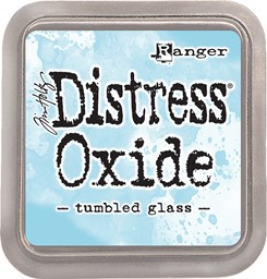 Bild von Tim Holtz Distress Oxides Stempelkissen 7,6 x 7,6 cm Tumbled Glass