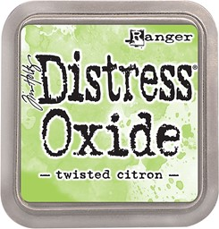 Bild von Tim Holtz Distress Oxides Stempelkissen 7,6 x 7,6 cm Twisted Citron