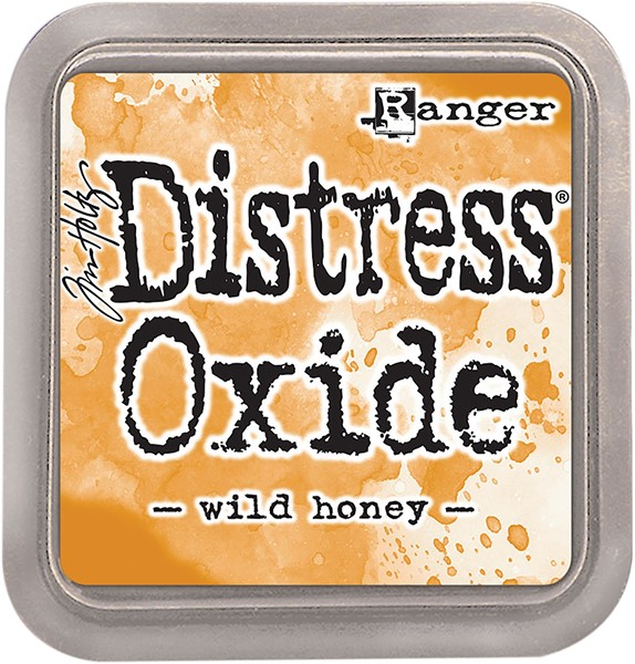 Bild von Tim Holtz Distress Oxides Stempelkissen 7,6 x 7,6 cm Wild Honey
