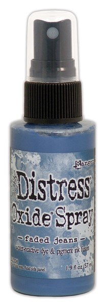 Bild von Tim Holtz Distress Oxide Spray 59ml Flasche Faded Jeans