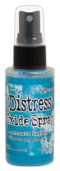Bild von Tim Holtz Distress Oxide Spray 59ml Flasche Mermaid Lagoon