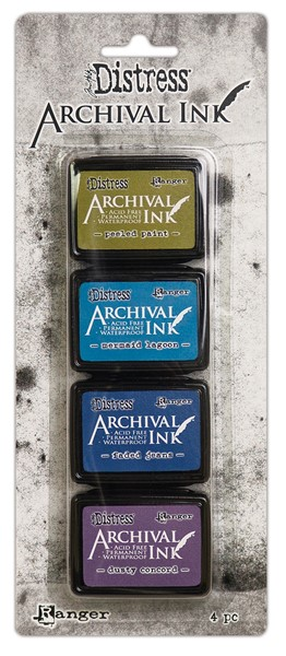 Bild von Tim Holtz Distress Archival Mini Ink Kit-Kit 2