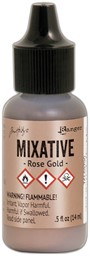 Bild von Tim Holtz Alcohol Ink Metallic Mixatives 14,8ml Rose Gold