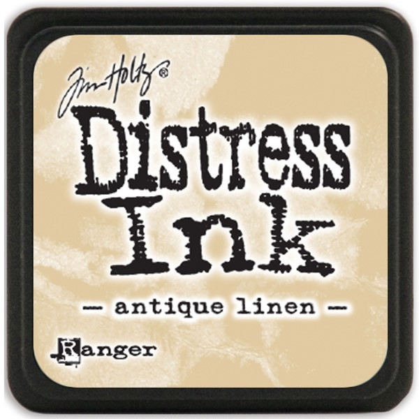 Bild von Tim Holtz Distress Mini Stempelkissen 2,5x2,5cm Antique Linen
