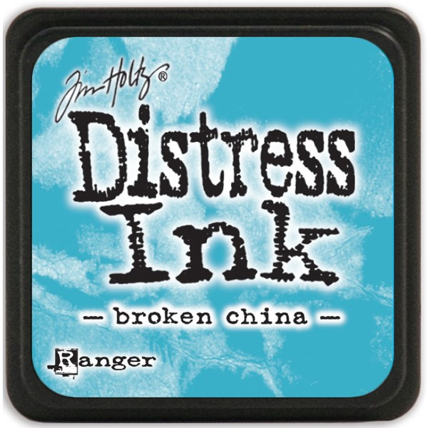 Bild von Tim Holtz Distress Mini Stempelkissen 2,5x2,5cm Broken China