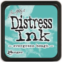 Bild von Tim Holtz Distress Mini Stempelkissen 2,5x2,5cm Evergreen Bough