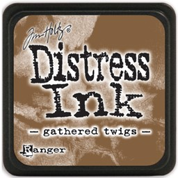 Bild von Tim Holtz Distress Mini Stempelkissen 2,5x2,5cm Gathered Twigs